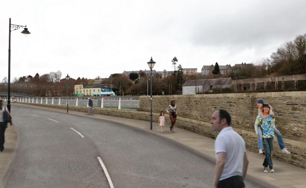 Promenade 3 Glass Wall